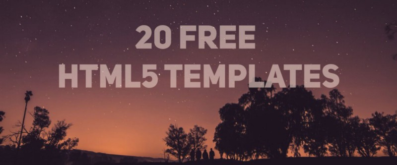 Free Website Themes & Templates