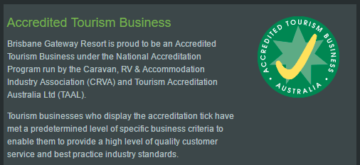 Resort Accreditation