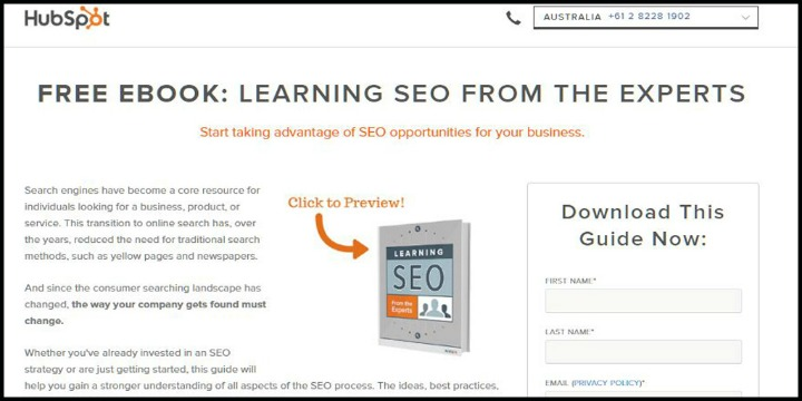 Free eBook: Learning SEO from the Experts by Hubspot