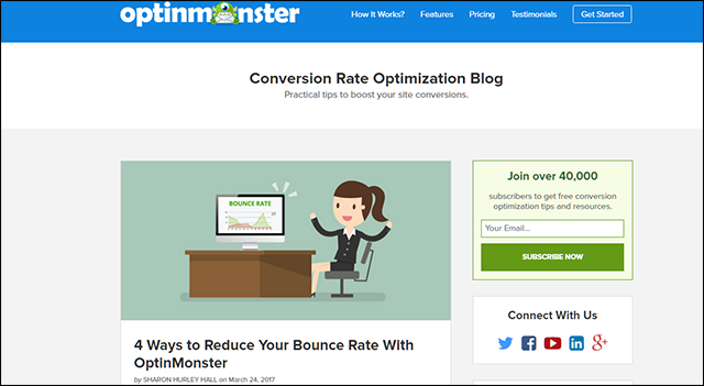 4 Ways to Reduce Your Bounce Rate with Optinmonster
