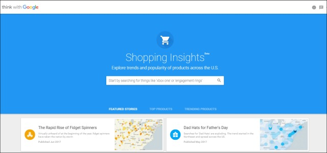 Google Shopping Insight