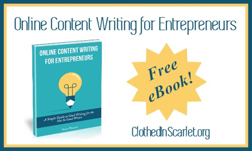 Online Content Writing for Entrepreneurs - Free eBook