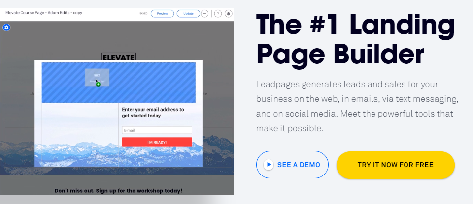 Lead Pages CTA