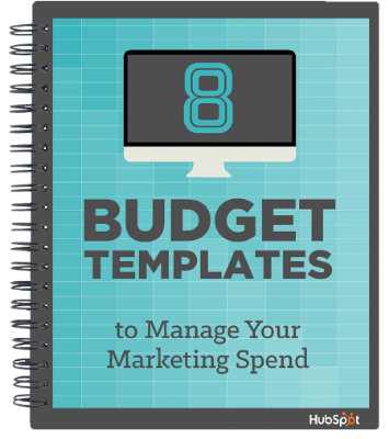 8 Marketing Budget Templates to Manage Your Marketing Spend - Hubspot