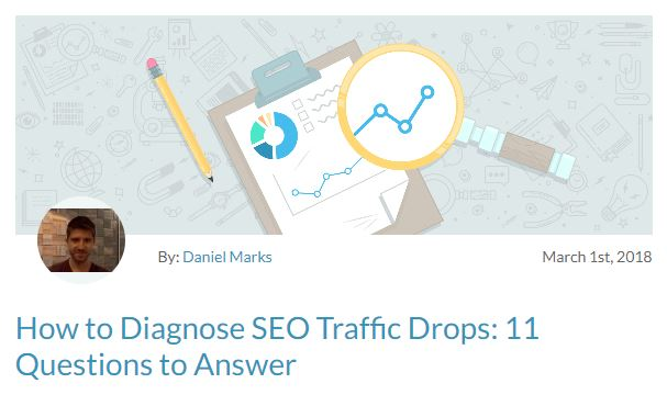 How to Diagnose SEO Traffic Drops: 11 Questions to Answer – Moz