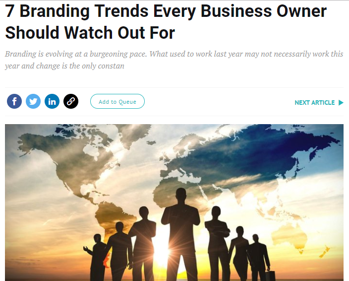 7 Branding Trends Every Business Owner Should Watch Out For