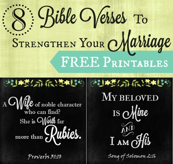 8 Bible Verses to Strengthen Your Marriage