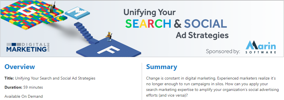 Unifying Your Search and Social Ad Strategies