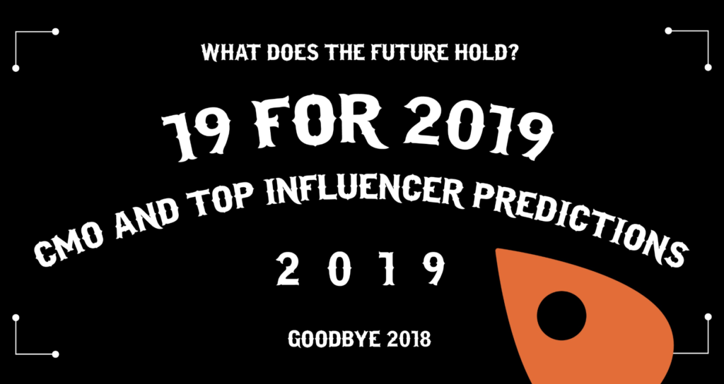 What Do CMOs Predict for 2019