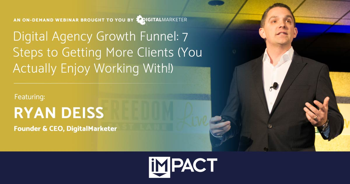 Digital Agency Growth Funnel: 7 Steps to Getting More Clients