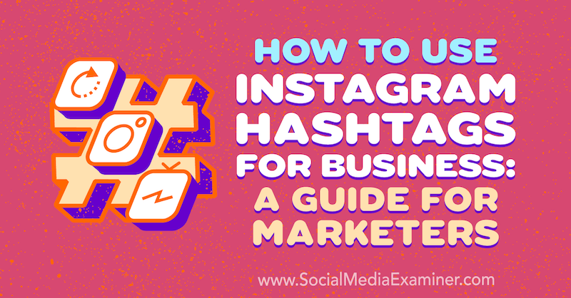 How to market Instagram hashtags