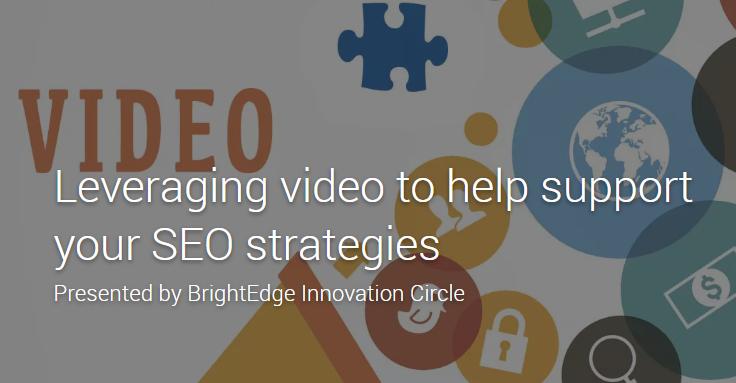 Video in SEO strategies