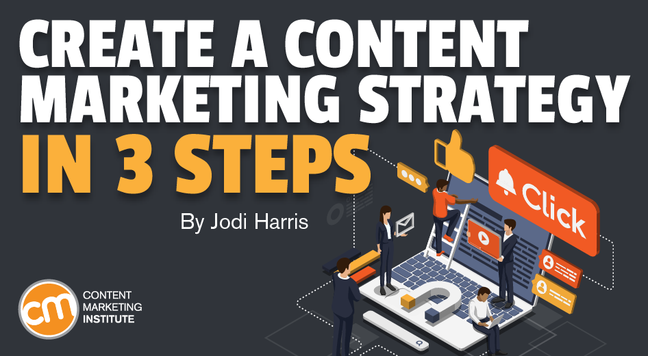 Create a content marketing strategy