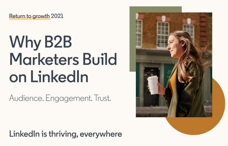 B2B marketers on LinkedIn